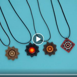 Read more about the article Colar Por do Sol em Quilling