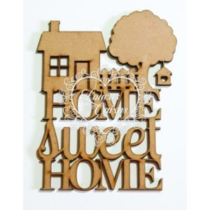 Home Sweet Home Com Casinha – M