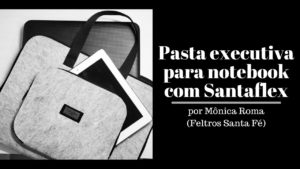 Pasta executiva para notebook com Santaflex