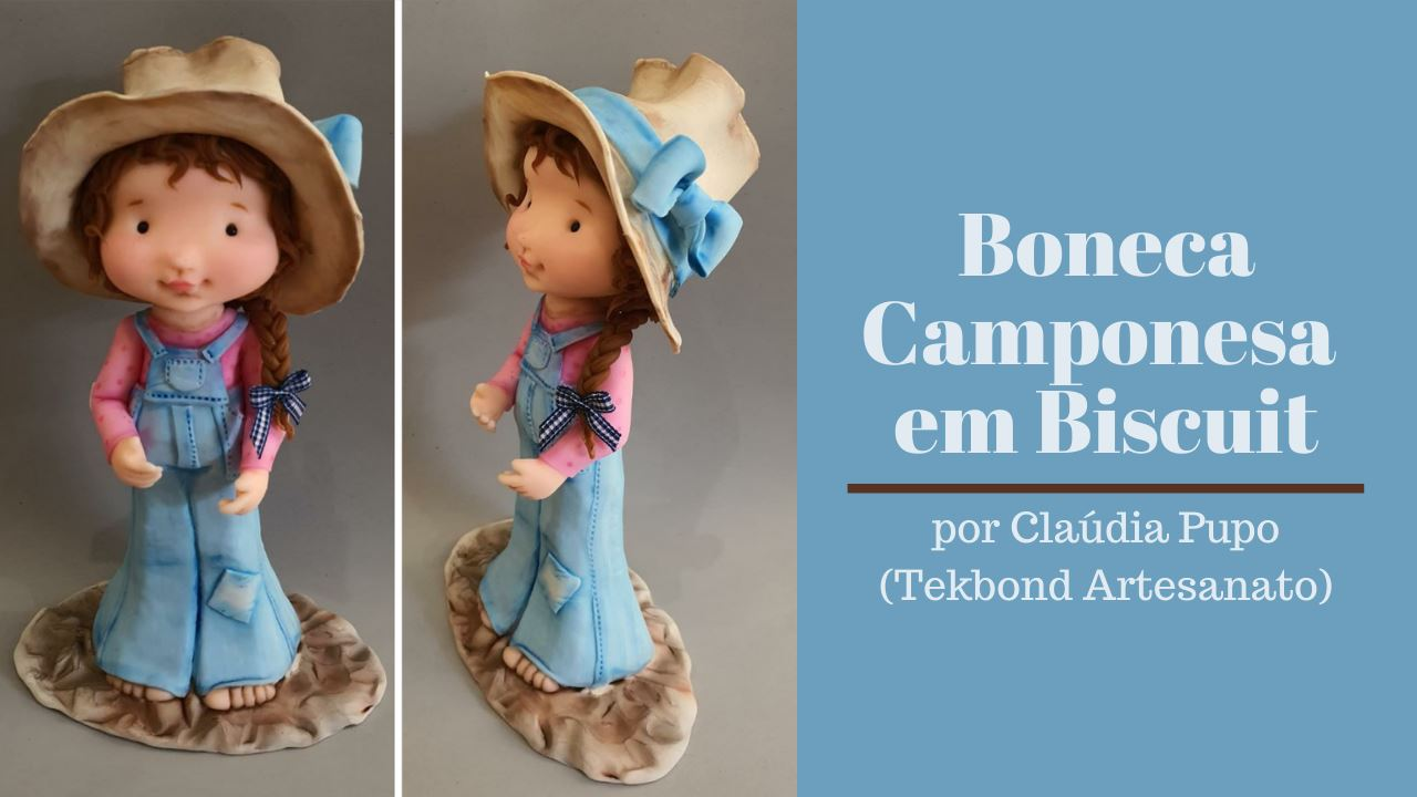 Read more about the article Boneca Camponesa em Biscuit