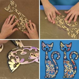 Read more about the article Pintura em MDF – Gatinho fofo